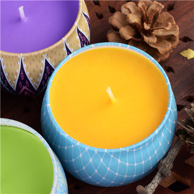 DIY Candle Making Kit for Orange Tin Candle