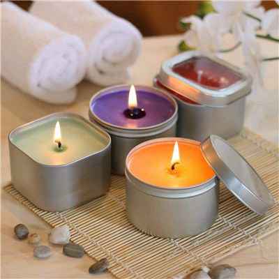DIY Candle Making Kit for Round/Square Tin Candle