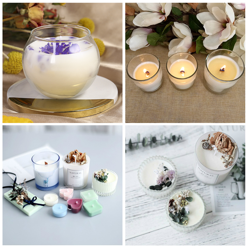 high quality Natural Soy Wax DIY Candle Material Flake Candle Wax